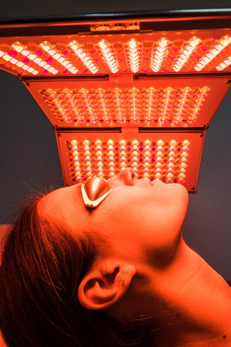 luminothérapie par LED